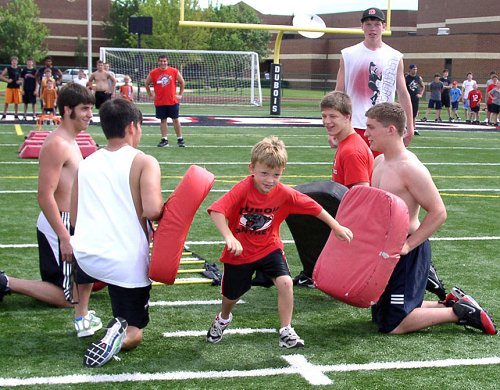 Placer Kids Football Camp June 23-26