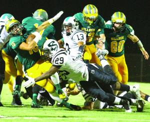 Hillmen thump Sheldon 49-13 to capture first home victory