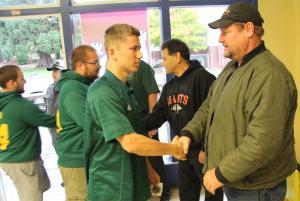 Hillmen among several area football teams to honor slain officers