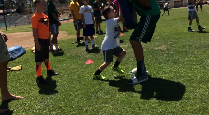 2017 Placer Football Kids Skills Camp June 19-22