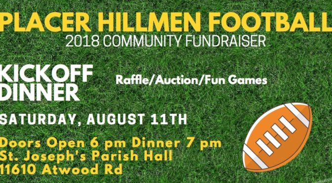 2018 Kickoff Dinner Tickets On-sale Now