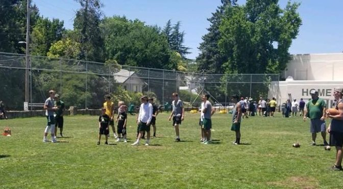 Placer Football Kids Camp 2019!
